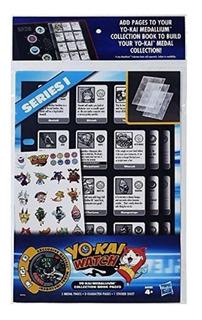 Paginas Folio Libro Yokai Medalla Unico Original Hasbro