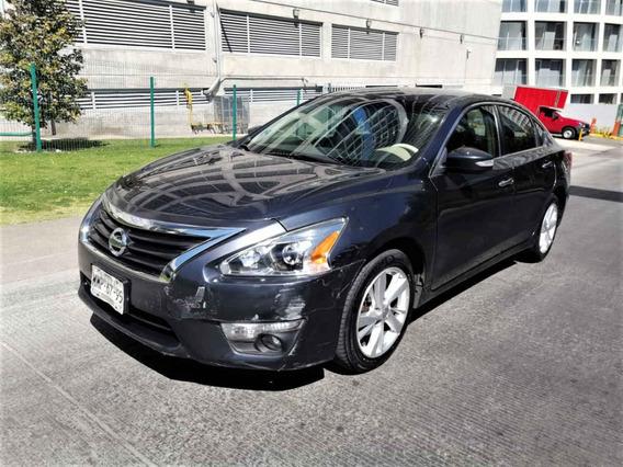 Nissan Altima 2013 4p Advance Aut Piel Cvt