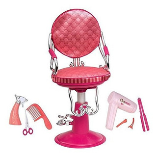 Nuestra Generacion Coral Salon Chair 18 Doll