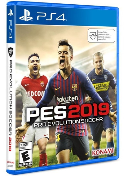 Juego Ps4 Pes 2019 Sony Playstation
