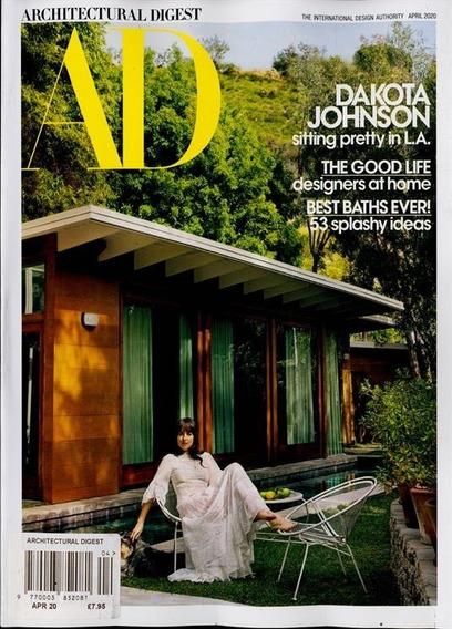 Ad Architectural Digest Us - Assinatura 6 Revistas Mensais