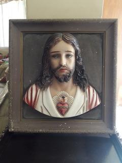 Marco Con Busto Del Sagrado Corazon