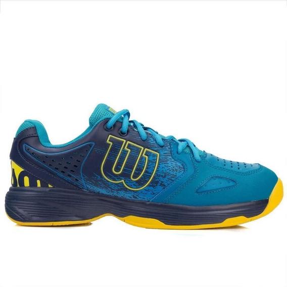 Tenis Wilson K Energy Azul