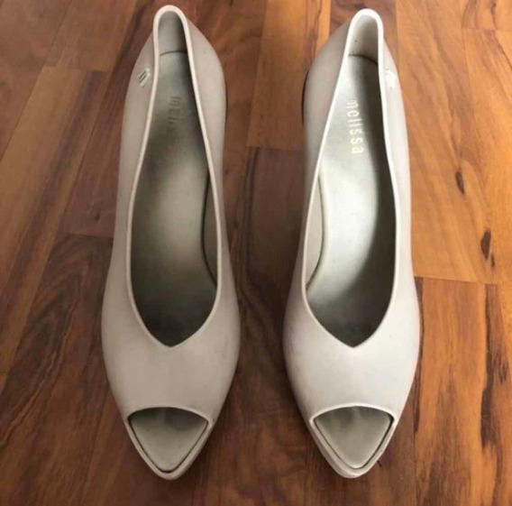 Zapatos Plataforma Melissa Tacón Alto