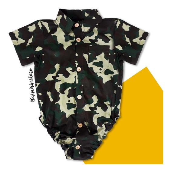 Body Camisa Social - Bebê