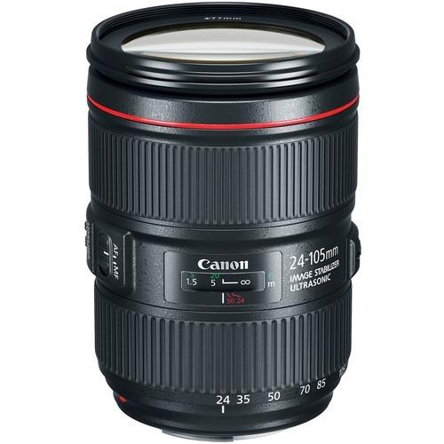 Lente Canon Ef 24-105mm F4l Is Ii Usm 1 Ano De Garantia + Nf