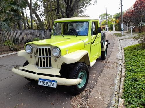 Imagem 1 de 15 de Ford Willy Rural F75 F 75 Bicudinha