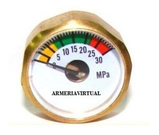 Manometro Rifle Pr900 Envió Gratis / Armería Virtual