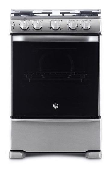 Cocina A Gas 60 Cm Inox Con Grill Ge Appliances - Cg760i