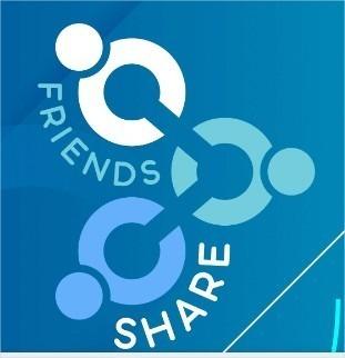 Friends Share Convite