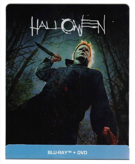 Halloween 2018 Steelbook Pelicula Blu-ray + Dvd