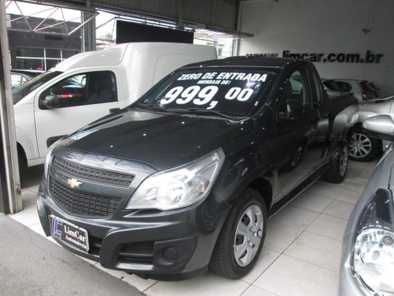 Chevrolet Montana Unico Dono Completo Zero De Entrada