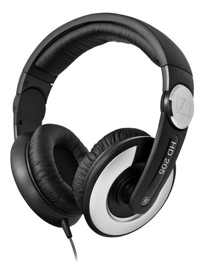 Headphone Sennheiser Fone De Ouvido Djs 3m Hd205 Ii West