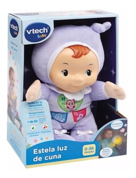 Vtech Estela Luz De Cuna Luz Y Sonido Envio Gratis Todo Pais