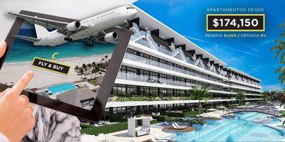 Apartamento En Venta En Cana Rock Star Punta Cana