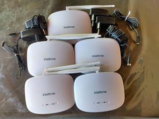 Roteador Intelbras Iwr1000n Usado 1 Ant. 4 Portas L/ 5 Unid
