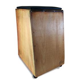 Cajón Acústico Luthier Jonathans Assento Couro