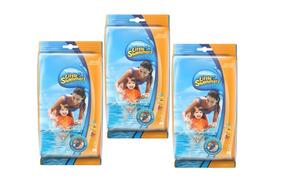 Kit 3 Fralda Descartável Little Swimmers Disney M