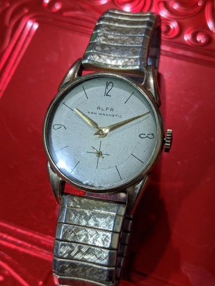 Reloj Vintage Alfa De Cuerda