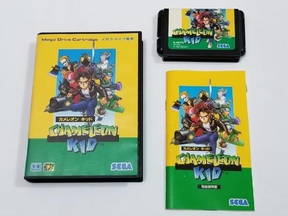 Kid Chameleon Original Japonês Sega Mega Drive.