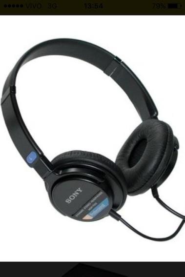 Hedphone Proficional Sony Mdr-7205 Usado