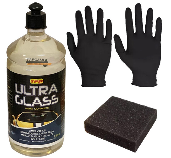 Removedor De Chuva Ácida Ultra Glass Tira Mancha Ácida Vidro