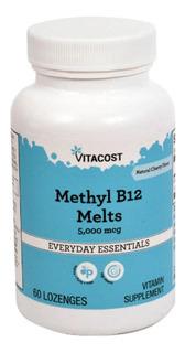 Vitamina B12 Metilcobalamina Sublingual 5000mcg Cod. 131