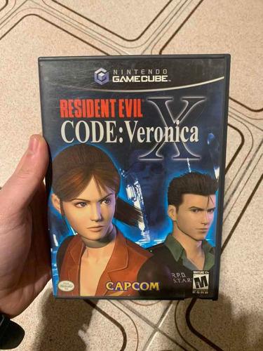 Resident Evil Cod Veronica Nintendo Gamecube Usado Original