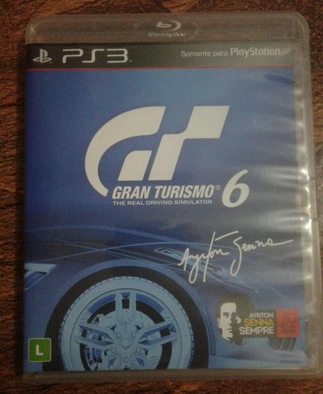 Jogo Ps3 Gran Turismo 6 Ayrton Senna Original