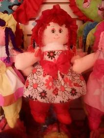Muñecas De Trapo Niñas Juguetes Peluches Barbei Oso