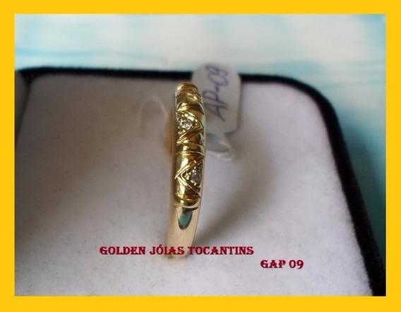 Aparador Folheado Ouro 18 K 750 Com 10 Camadas Gap 09