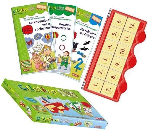 Bambino Criativo Luk Estojo + 3 Livros