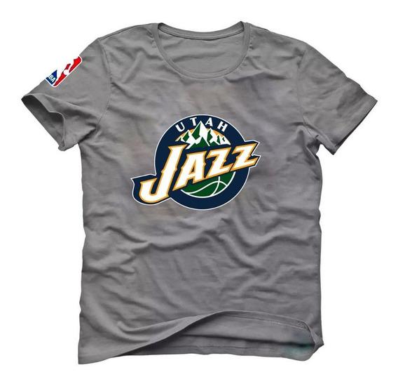 Camiseta Basquete Utah Jazz Donovan Mitchell Rudy Gobert Cz