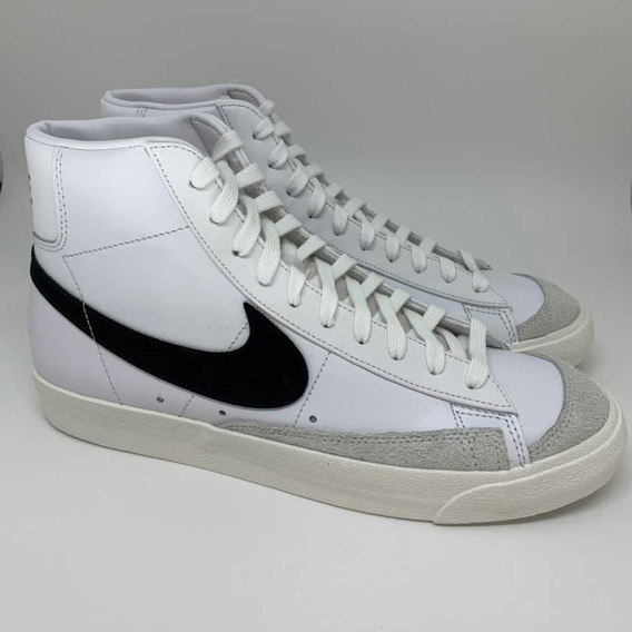 Nike Blazer Mid 77 Vintage White Black - 42 Br / 10 Us.