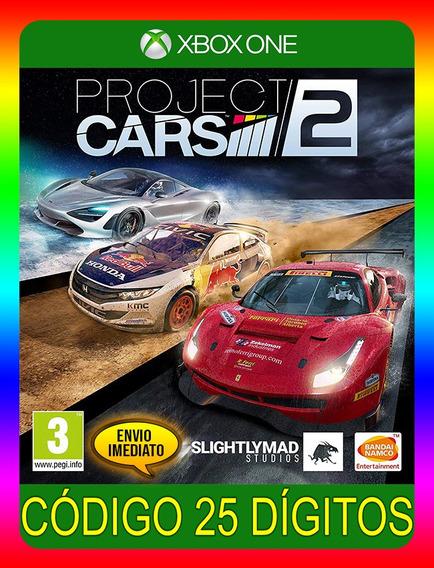 Project Cars 2 Xbox One - 25 Dígitos (envio Já)