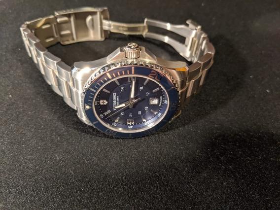 Relógio De Pulso Victorinox Maverick Gs Blue Serie 2013