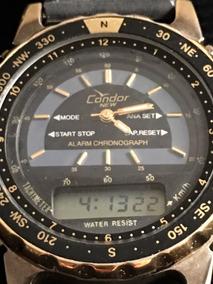 Relógio Condor News - Analógico E Digital À Prova Dágua 30 M