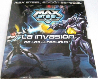 Max Steel - La Invasion De Los Ultralinks Pelicula Nueva Dvd