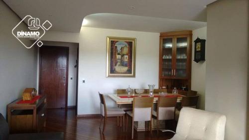 Apartamento Com 3 Dormitórios À Venda, 122 M² Higienópolis - Ribeirão Preto/sp - Ap2574