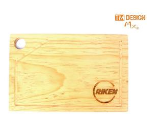 14tabla Para Picar Personalizada Laser Calendario Fin De Año