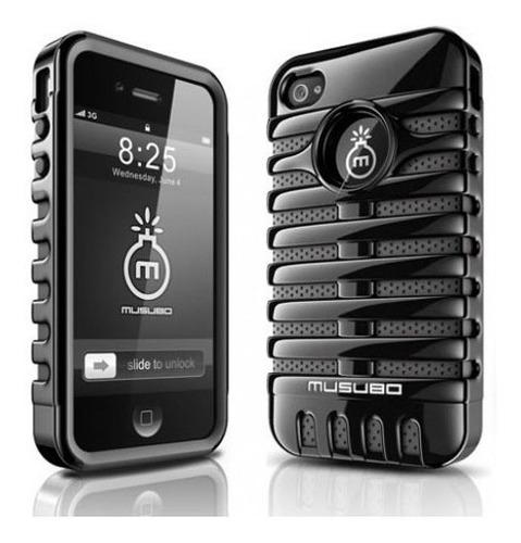 Original Y Unico Modelo Carcasa Musubo Estilo Retro iPhone 5