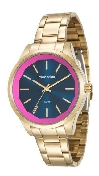 Relógio Mondaine Feminino Dourado - 34647