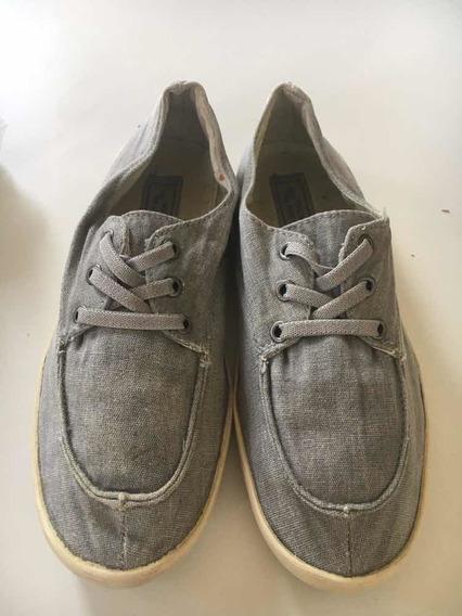 Zapatos Nauticos En Lino Zara