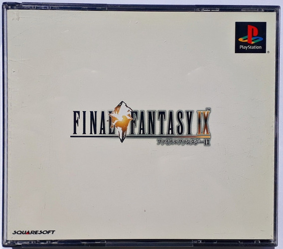 Jogo Final Fantasy Ix 9 Ps1 Original Playstation Completo Jp