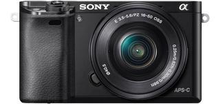 Cámara Profesional Sony De 24.3mp Montura E- Ilce-6000l