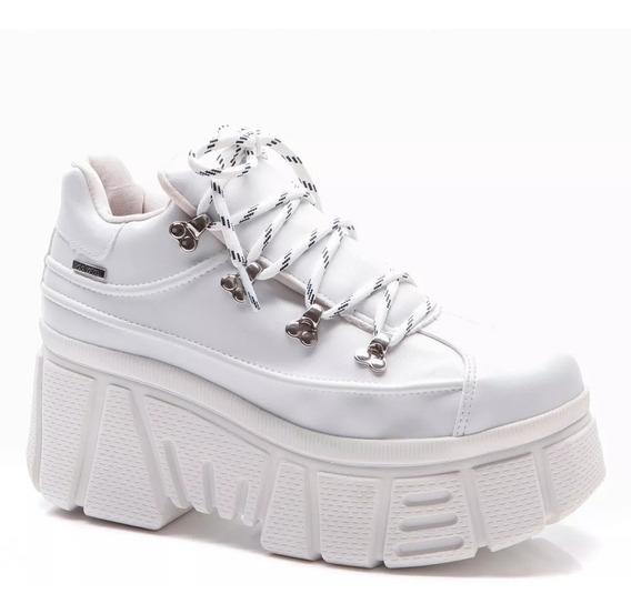Tenis Feminino Dakota Sneaker Flatform Casual Branco G2511