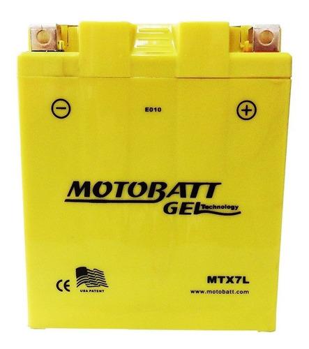 Bateria Yamaha Fazer 250 Ys Tenere Lander 250 Mtx7l Motobatt