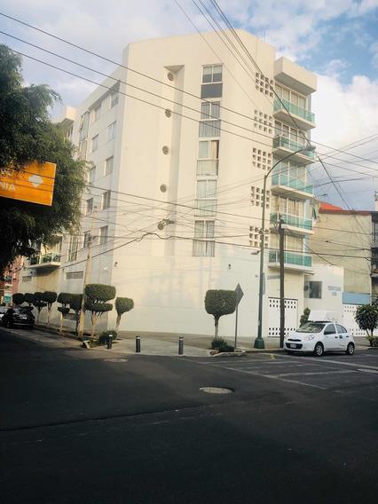 Depto Seminuevo Colonia Nápoles Con 2 Estacionamientos