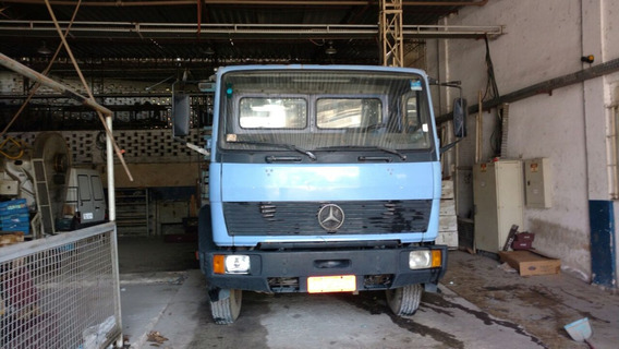 Mercedes-benz Mb 1214 Carroceria Segundo Dono Motor Feito