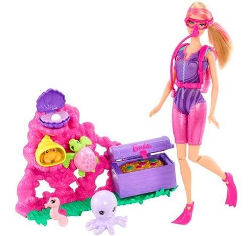 Imagen 1 de 5 de Barbie Puedo Ser Un Juego De Muñecas Exploradoras Del Tesor